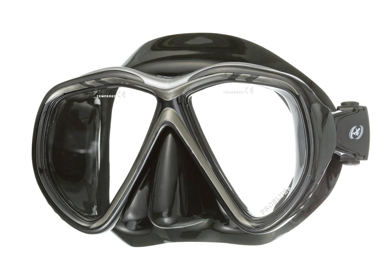 Tiara 2 Black Silicone                           Mask